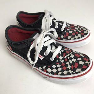 Vans Old School Checkered Lace Up Shoes